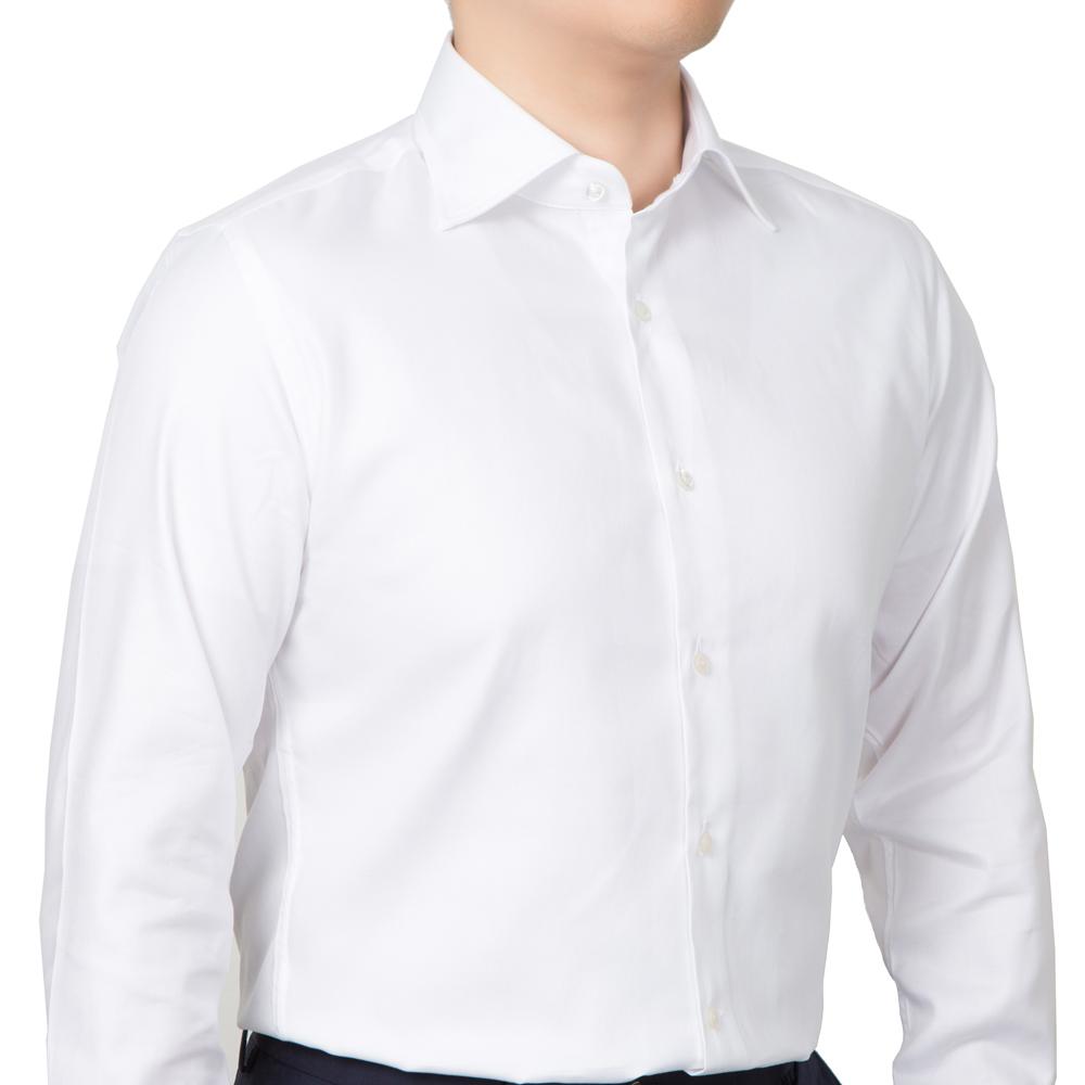 WHITE TWILL DRESS SHIRTS