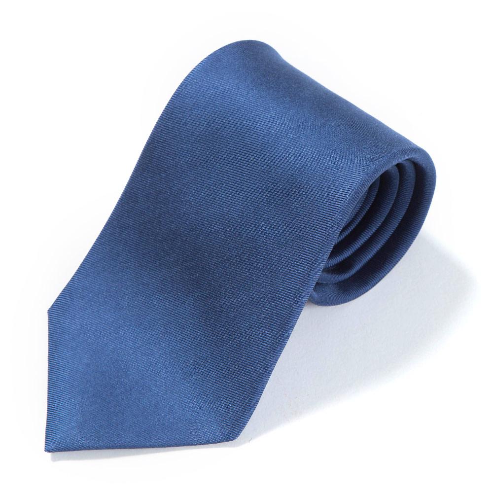 HAND PRINTED VINTAGE SOLID BLUE
