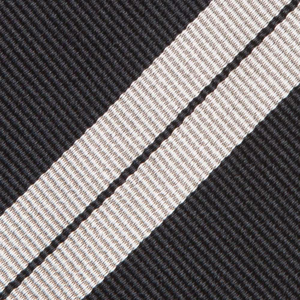 DOUBLE STRIPE TWILL SILK TIE 2ND