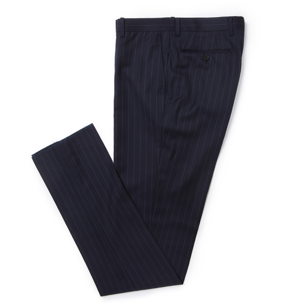 DUESIGNORI NAVY STRIPE SUIT