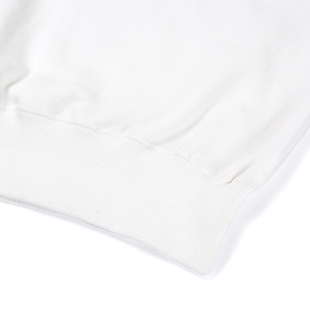 PRIVATE LABEL SWEAT SHIRTS WHITE