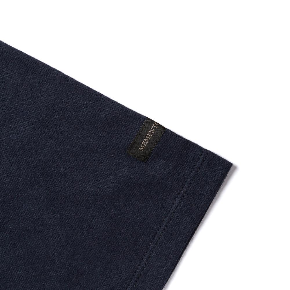 모리 솔리드 클래식 네이비 반팔 티셔츠
